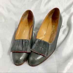 Fratelli Rossetti Vintage Pleated Shoes